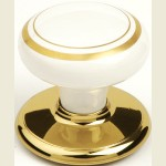 Henley Bright Gold Wardrobe Knob