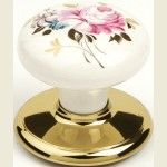 Traditional Chelsea Bright Gold Cupboard Knob
