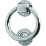 102mm Ring Door Knocker Polished Chrome