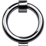 Ring Door Knocker Polished Chrome