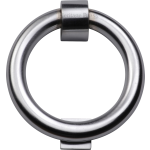 Ring Door Knocker Satin Chrome