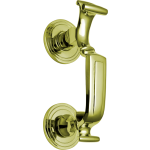 K1300 197mm Polished Brass Doctor Knocker