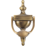 Urn Door Knocker Antique Brass