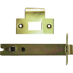 127mm Tubular Mortice Latch Satin Brass