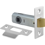 64mm Tubular Mortice Latch NP
