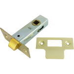 66mm Tubular Mortice Latch Brass