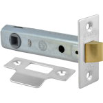 95mm Tubular Mortice Latch NP