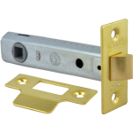 95mm Tubular Mortice Latch PB