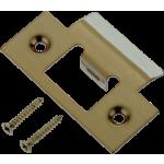 Door Latch Striker Keep Plate Antique Brass