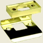Gainsborough Latch Rebate Kit Bright Gold