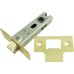 78mm Tubular Mortice Latch Brass