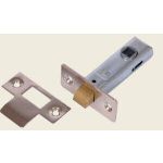 75mm Tubular Mortice Latch NP