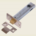76mm Tubular Mortice Latch ZP