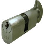 Oval Profile Thumbturn Cylinder Satin Stainless Steel