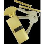 Oval Profile Thumbturn Cylinder Brass
