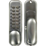 Satin Digital Security Door Lock