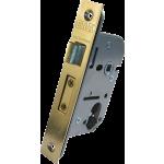 67mm ERA Euro-Oval Cylinder Lock Case Polished Brass