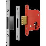 67mm ERA High Security Euro Cylinder Dead Lock Case Satin Chrome