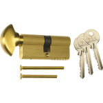 Euro Profile Brass Thumbturn Cylinder