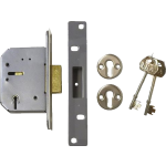 77mm 5 Lever Mortice Deadlock SC