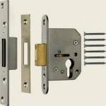 65mm Satin Chrome Euro Deadlock Cylinder Case