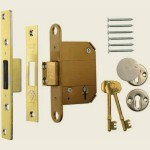 67mm 5 lever BS Fortress Deadlock PB