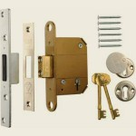 67mm 5 lever BS Fortress Deadlock SC