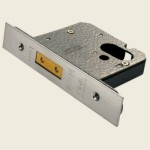 65mm Satin Euro-Oval Deadlock Cylinder Case