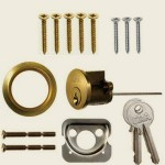 Brass Replacement Cylinder Rim