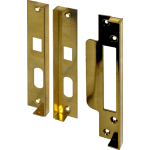 12mm Rebate Set For Securefast Sashlocks Brass