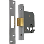 64mm Euro Profile Small Case Deadlock Satin