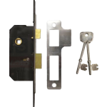 51mm Willenhall M5 5 Lever Mortice Sashlock