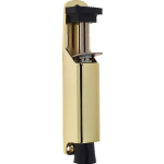 120mm Kick Down Door Stop Polished Brass
