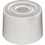 1 Inch Door Stop White Rubber