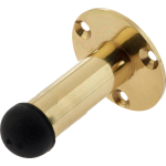 63mm Projection Door Stop Polished Brass