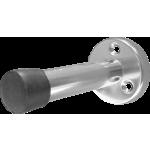 83mm Projection Door Stop Satin Aluminium