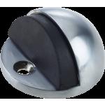 JV86 Satin Chrome Shielded Doorstop