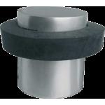 Cylindrical Door Stop Satin Aluminium