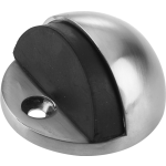 Oval Steel Door Stop Satin Stainless Steel