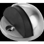 Oval Steel Door Stop Satin Stainless Steel