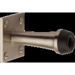 64mm Projection Door Stop Satin Nickel