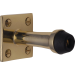 64mm Projection Door Stop Polished Brass