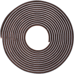 5M Self Adhesive Weather Pile Brown