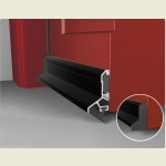 Expelex Deflector Concealed Fixing Black With Seal