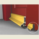 Expelex Deflector Concealed Fixing Gold With Seal