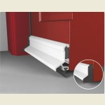 Expelex Deflector Concealed Fixing With Seal White