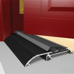 933mm Exitex Threshex Draft Excluder Black