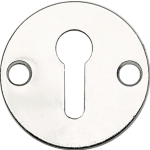 Victorian Open Escutcheon Polished Chrome