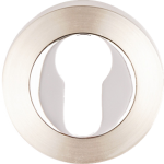 Designer Euro Escutcheon SN+PC