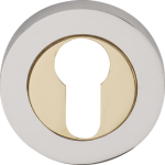 Designer Euro Profile Escutcheon PC+PB